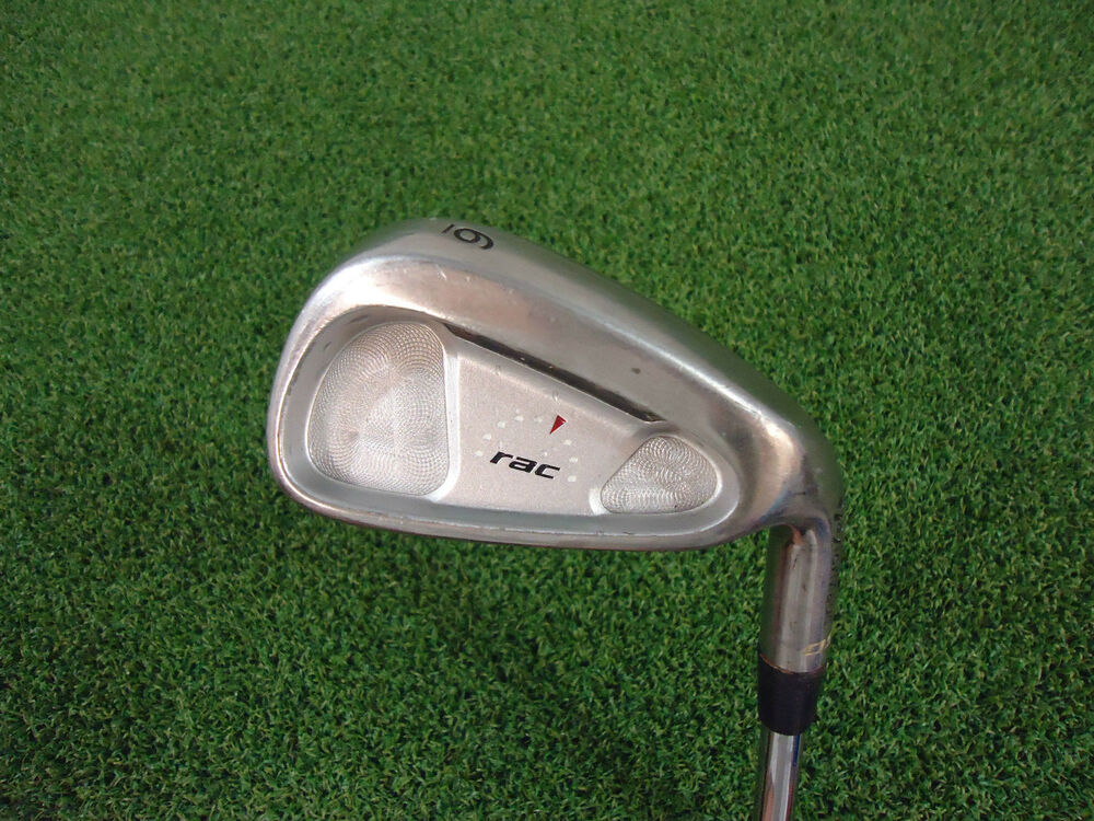 used taylormade rac os single 6 iron dynamic gold s300 stiff steel 2 ebay. Black Bedroom Furniture Sets. Home Design Ideas