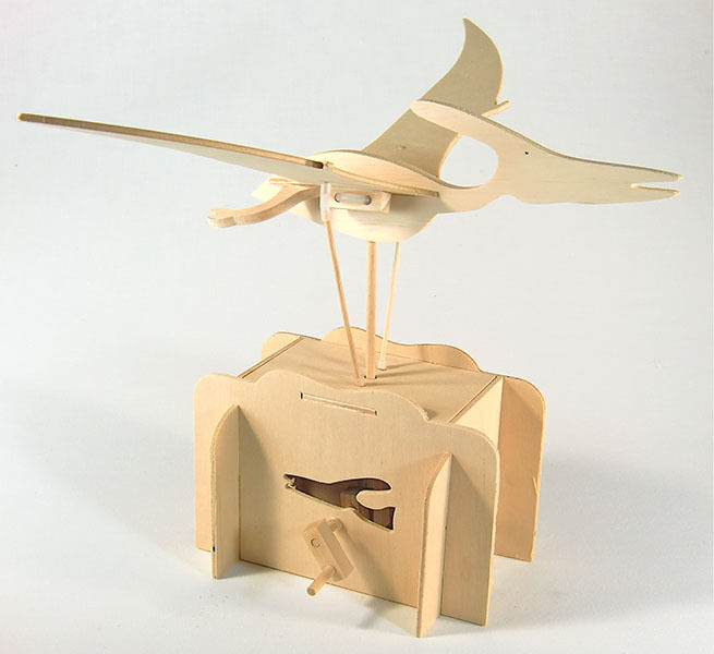 *NEW* Flying Pteranodon Working Wooden Construction Craft ...