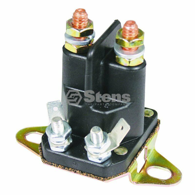 Lawn Mower Relay : Starter solenoid for sears craftsman mower part