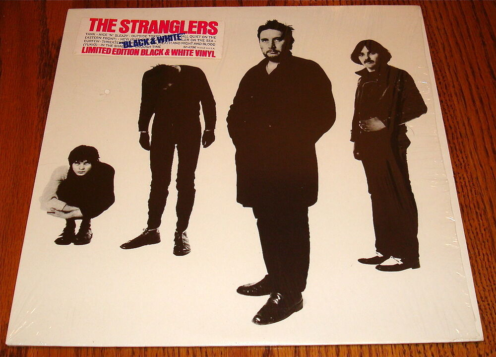 the stranglers black and white limited edition black white vinyl in shrink ebay. Black Bedroom Furniture Sets. Home Design Ideas