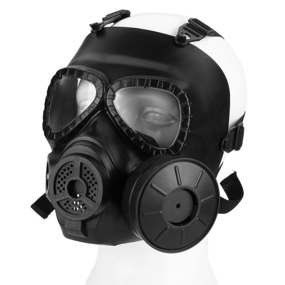 paintball tactical airsoft game face protection safety mask guard toxic gas mask ebay. Black Bedroom Furniture Sets. Home Design Ideas