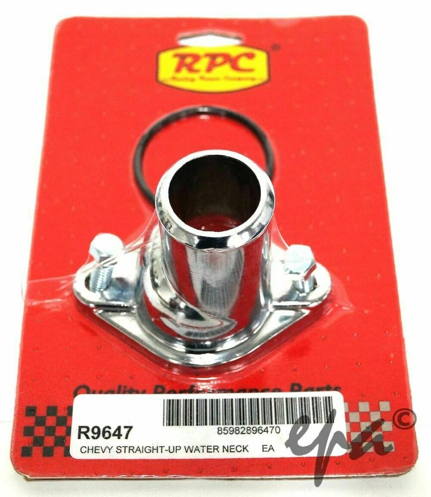 CHEV WATER NECK THERMOSTAT HOUSING STRAIGHT SMALL & BIG