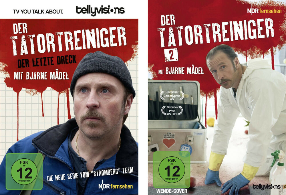 2 dvds der tatortreiniger staffel 1 2 im set bjarne m del neu ovp ebay. Black Bedroom Furniture Sets. Home Design Ideas
