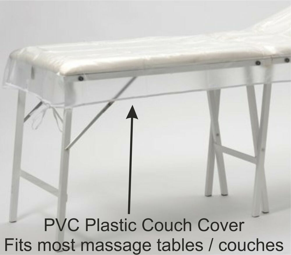 Pvc Plastic Couch Cover For Massage Tables Beds Beauty