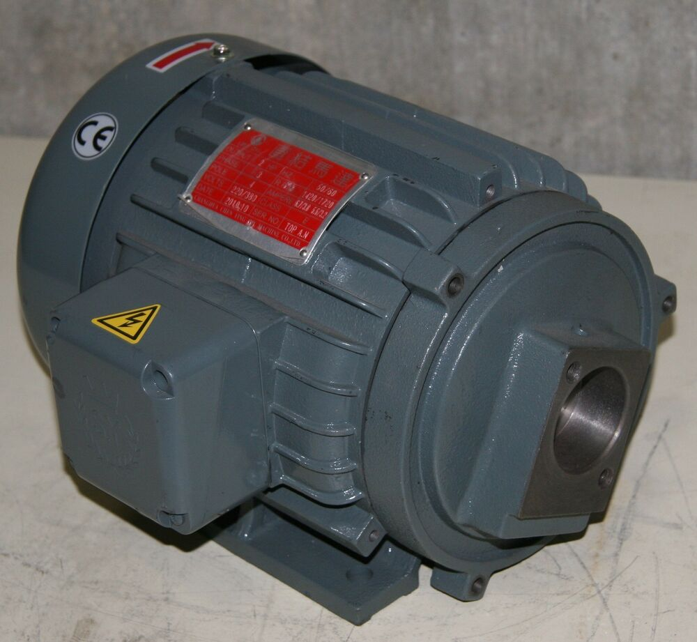 Used chen ying 3 phase induction motor 2 h p 220 380v for Three phase induction motor