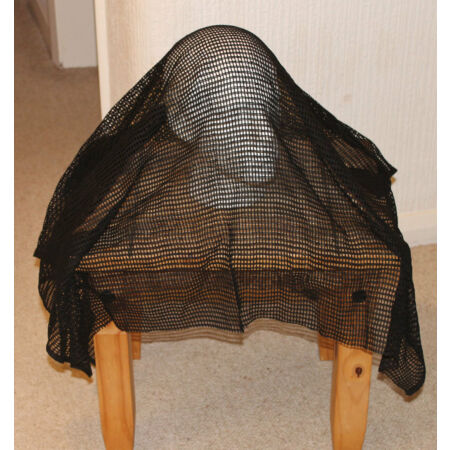 img-New BLACK Sniper Veil SCRIM NET Scarf ( Military concealment