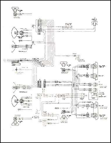 1978 chevy impala caprice classic wiring diagram ... 81 chevy luv wire diagram