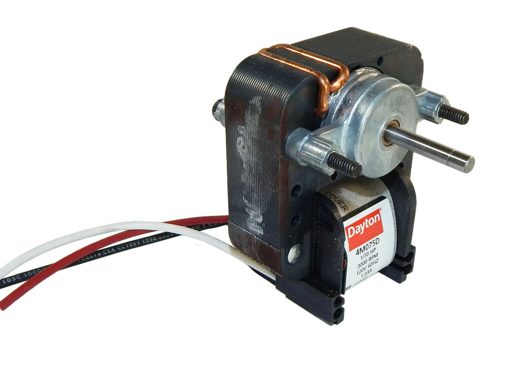 Dayton Electric 2 Speed C Frame Vent Fan Motor 1 70 Hp