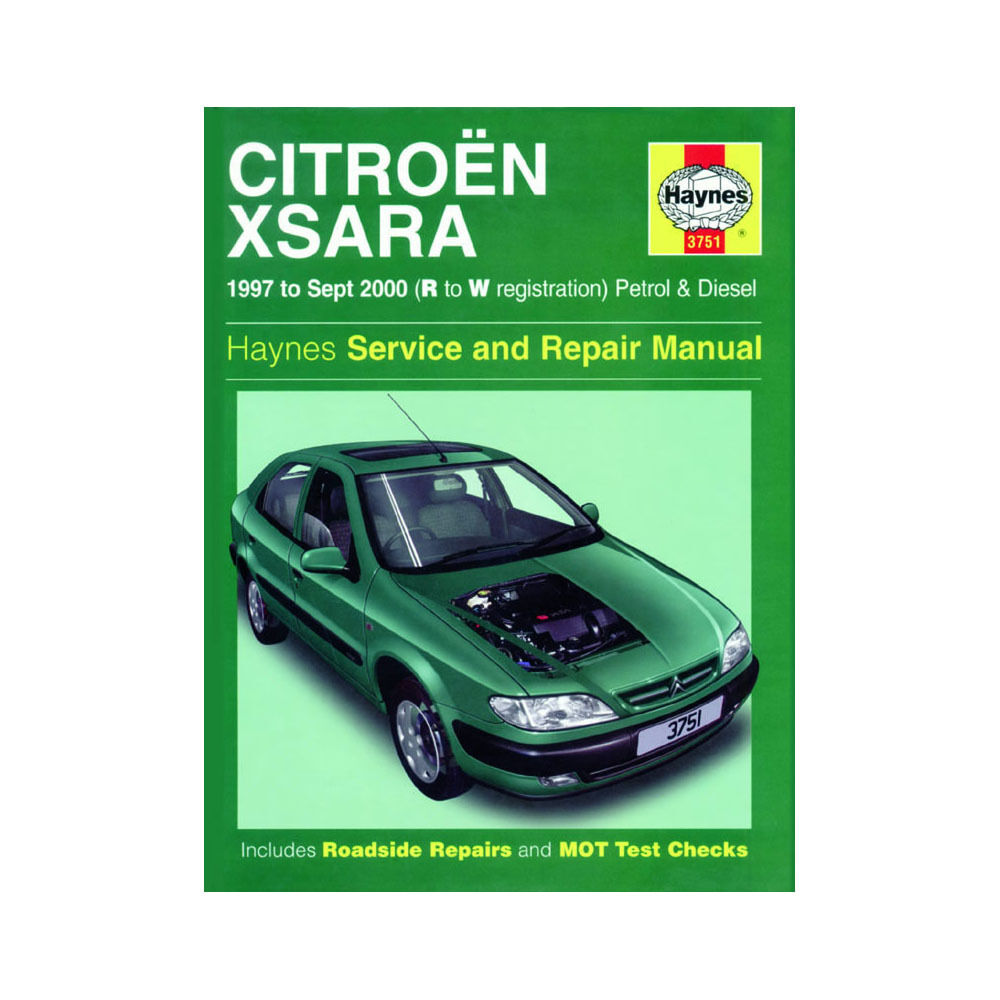 Citroen Xsara Haynes Manual 1997-00 1.4 1.6 1.8 Petrol 1.9 2.0 Diesel  Workshop | eBay
