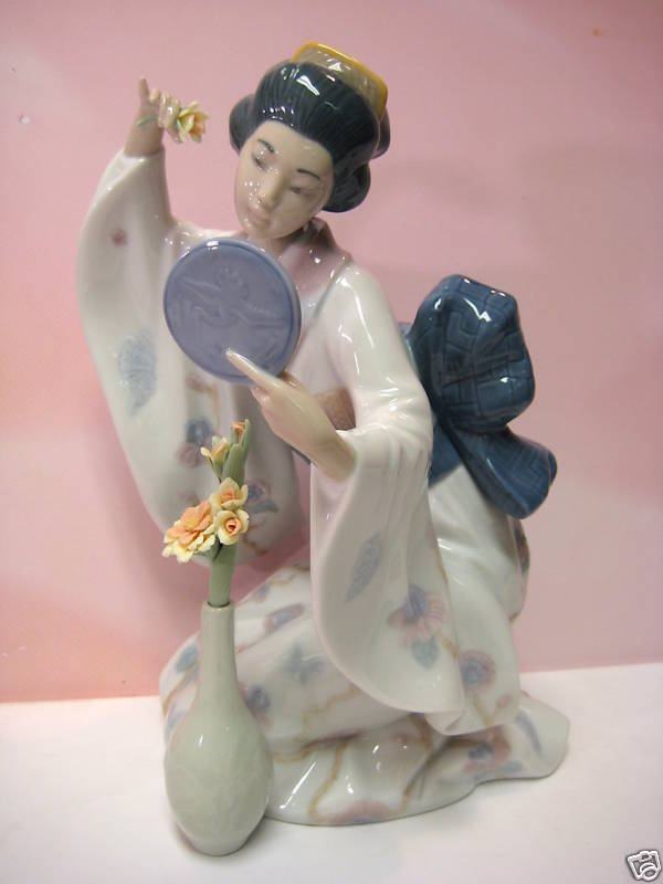 Apologise, but lladro asian oriental man beard dog