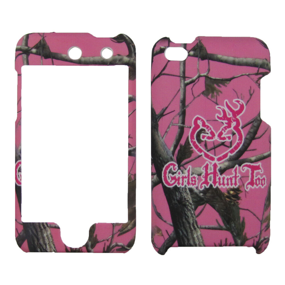 girls hunt too Hard Cover Apple iPod touch 4th Generation ... Ipod Touch 4th Generation Cases For Girls