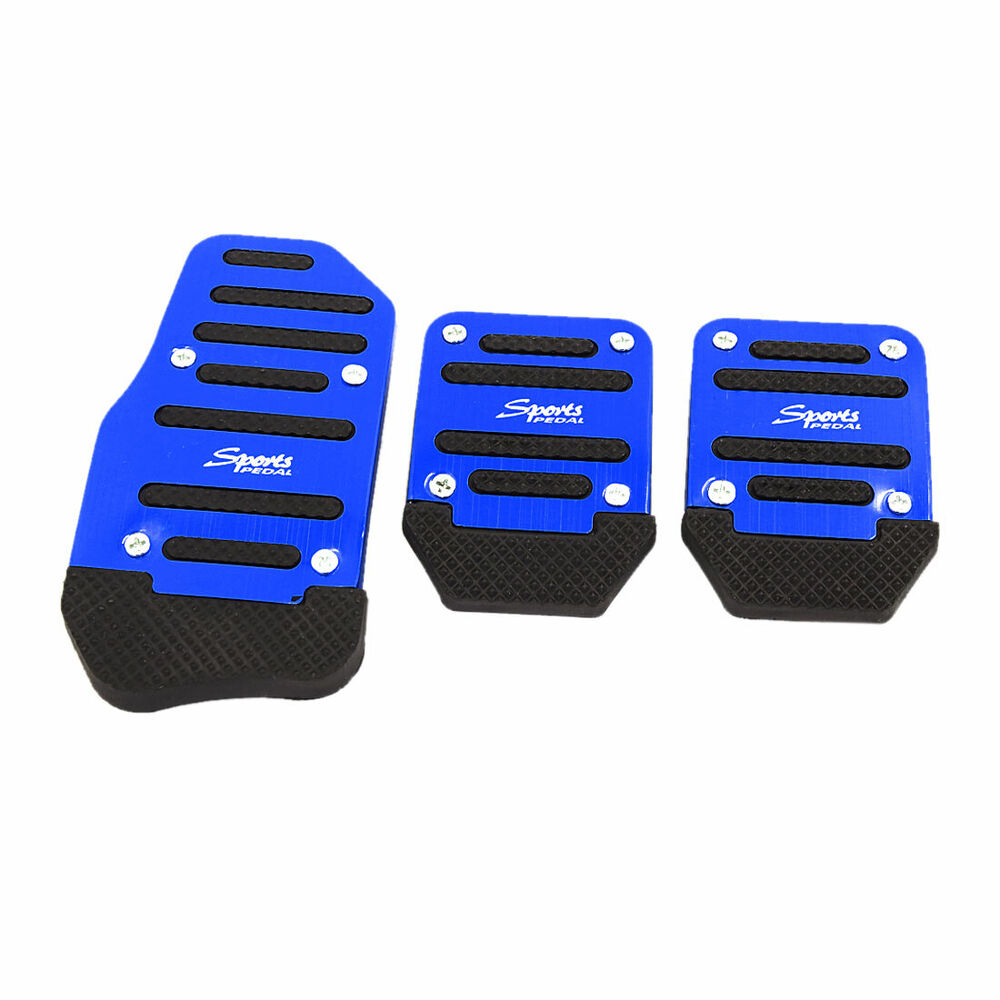 3 In 1 Universal Racing Sports Non-Slip Automatic Car Gas