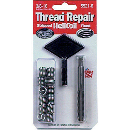 helicoil 5521 6 thread repair kit 3 8 16 x 562 ebay. Black Bedroom Furniture Sets. Home Design Ideas