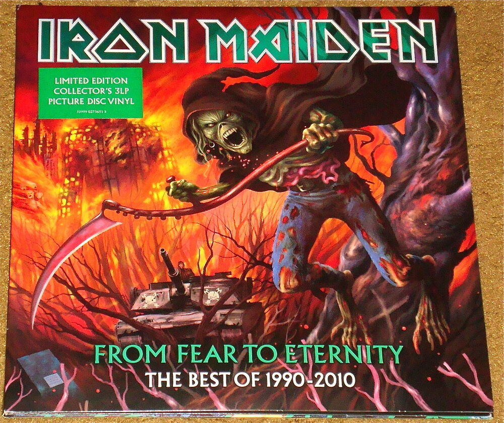Iron Maiden From Fear To Eternity The Best Of 1990 2010 3