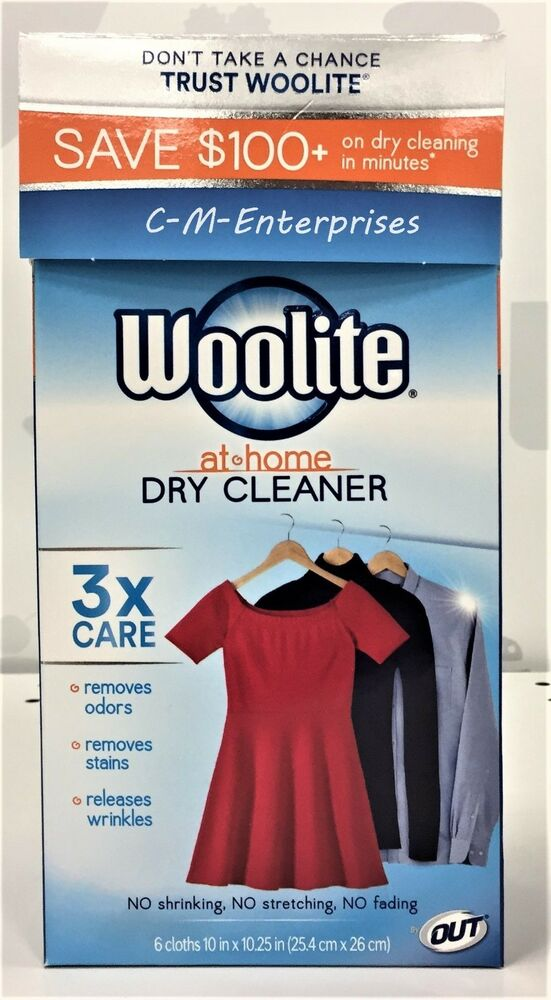 Woolite Dry Cleaners Secret At Home Dry Cleaning | eBay