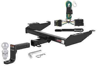 curt class 4 trailer hitch tow package for chevy gmc c k 1500 2500 3500 ebay. Black Bedroom Furniture Sets. Home Design Ideas