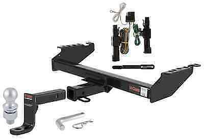 curt class 4 trailer hitch tow package for 86 94 dodge ram 1500 2500 3500 ebay. Black Bedroom Furniture Sets. Home Design Ideas
