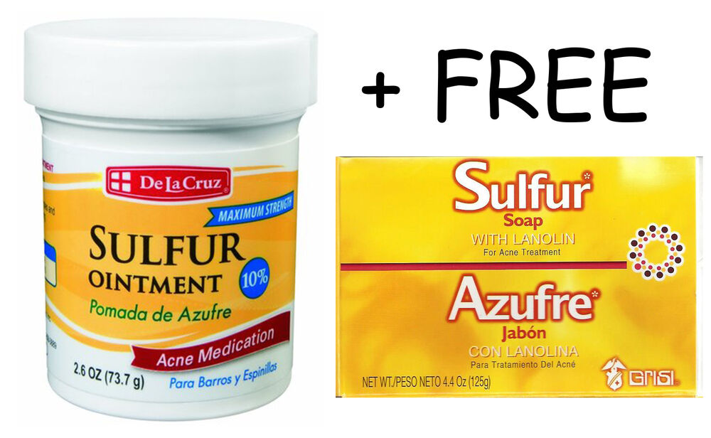 Sulfur ointment acne