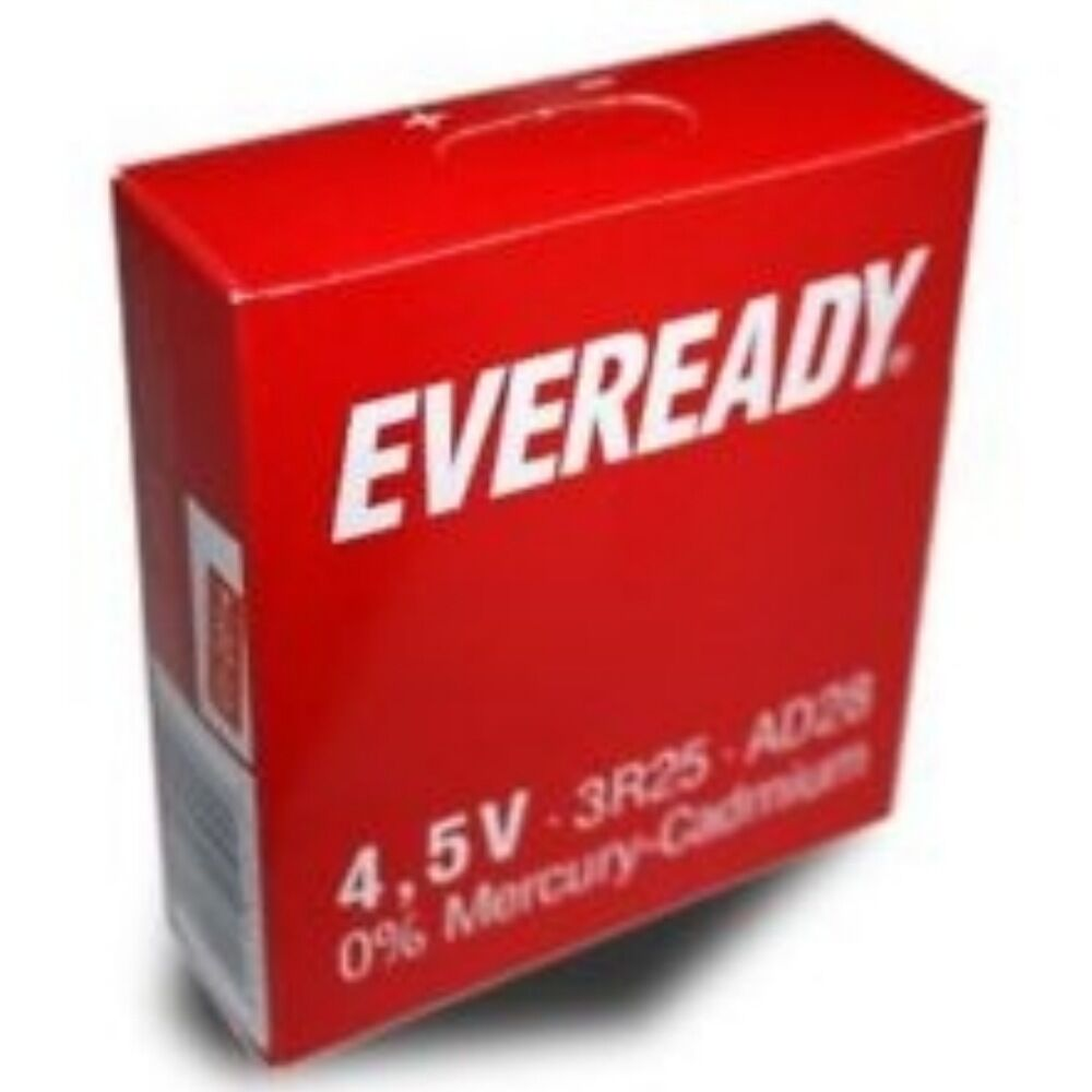 eveready 3r25 battery 4 5 volt lantern ad28 ad28pv 3r20 bardic lamp battery ebay. Black Bedroom Furniture Sets. Home Design Ideas