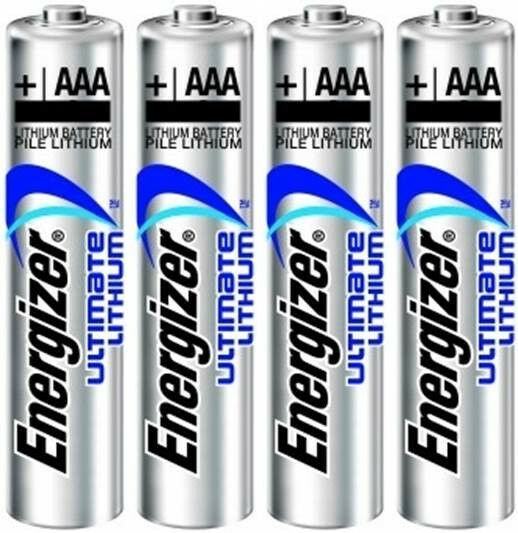 4 energizer aaa ultimate lithium batteries ebay. Black Bedroom Furniture Sets. Home Design Ideas
