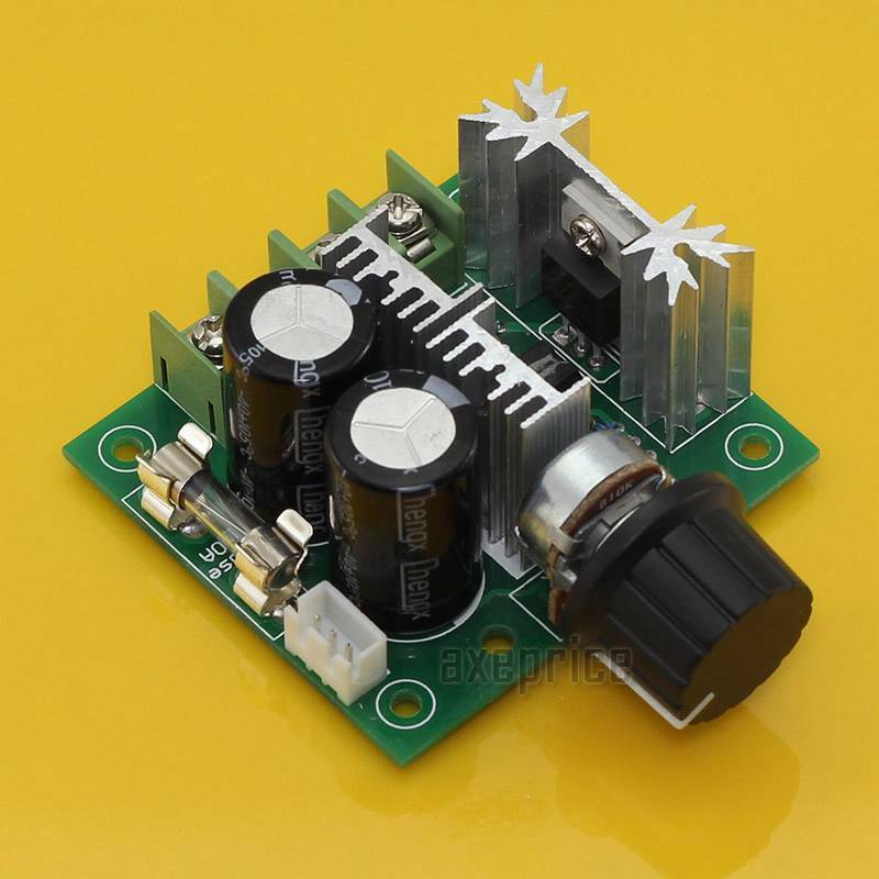 12v 40v 10a pulse width modulator pwm dc motor speed for Motor speed control pwm