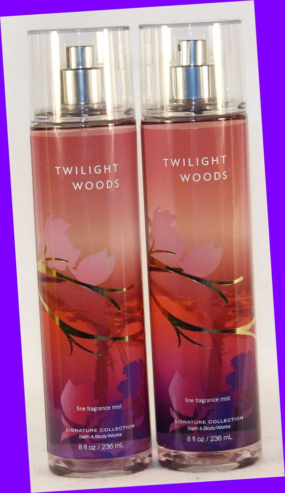 New 2 Bath Body Works Twilight Woods Fine Fragrance Mist