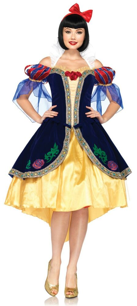 Creative Princess Anna Ladies Fancy Dress Disney Frozen Fever Womens Adult