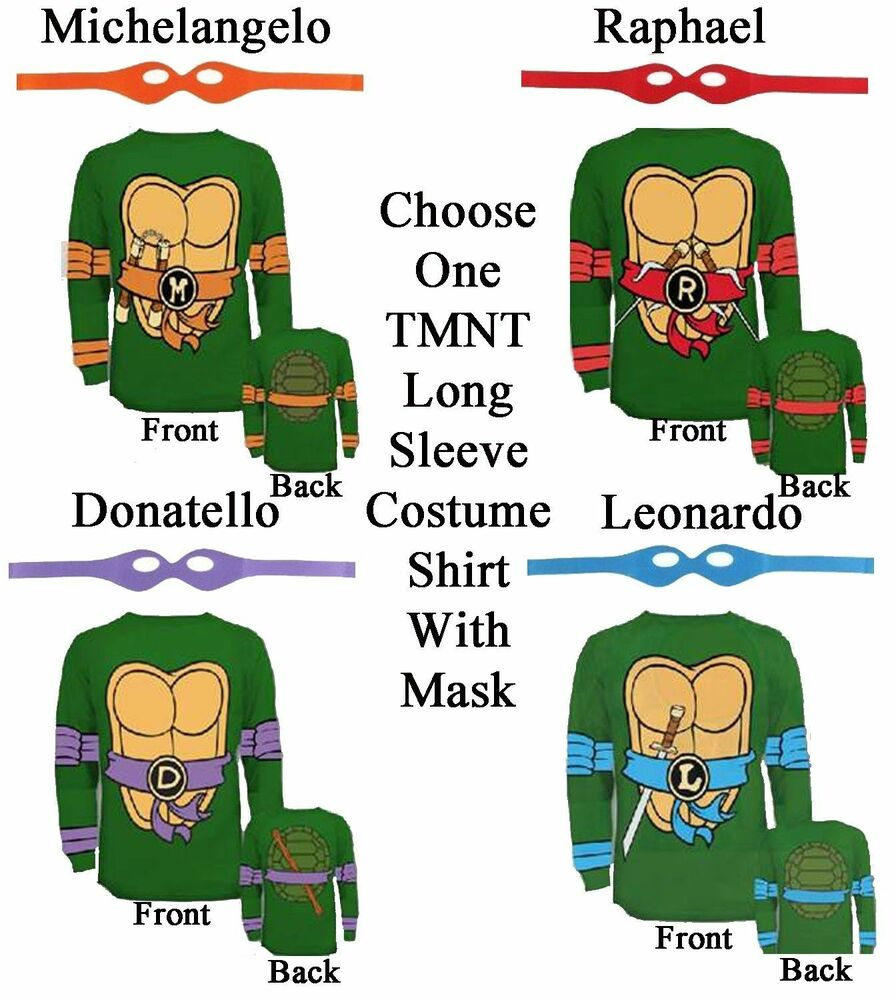 Adult ninja turtle shirt - photo#20
