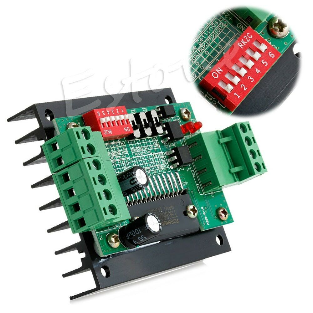 Motor driver board control cnc router single 1 axis 3 5a for Cnc stepper motor controller