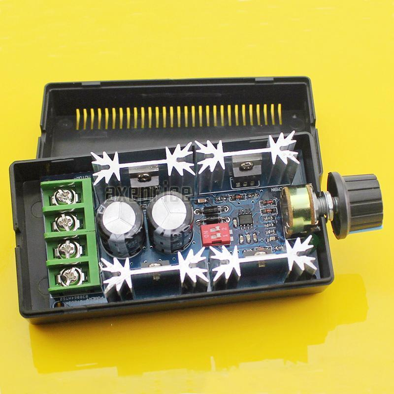 10 50v 40a dc motor speed control pwm hho rc controller for Pwm ac motor control