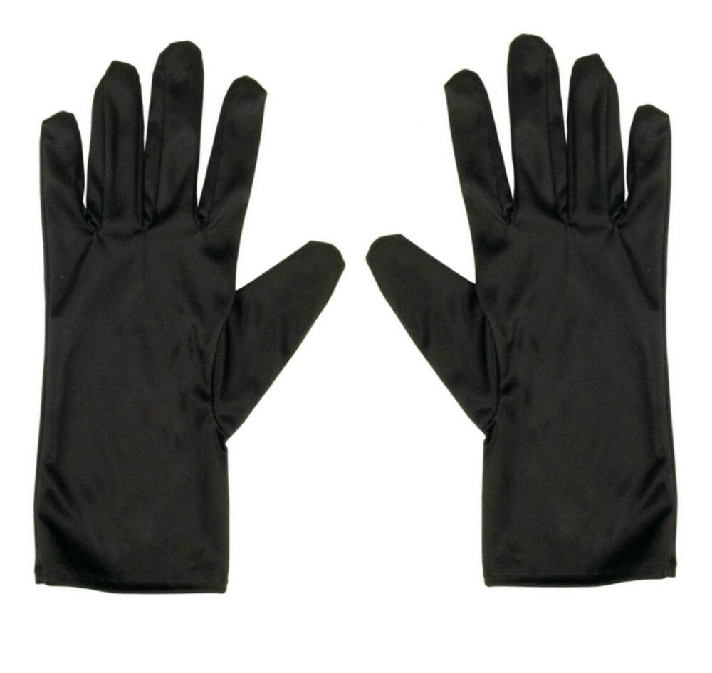 Black microfiber jewelry gloves - Watch Amp Jewellers Jewellery Handleing Microfiber Soft Gloves Black Or White Ebay