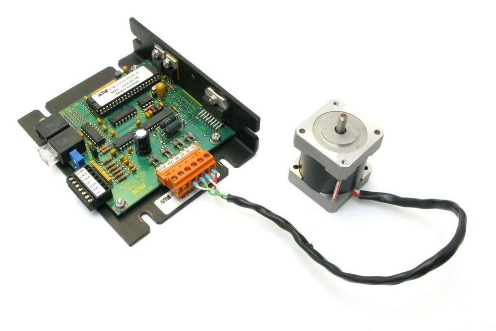 Advanced micro systems dcb 241 stepper motor controller for Stepper motor control system