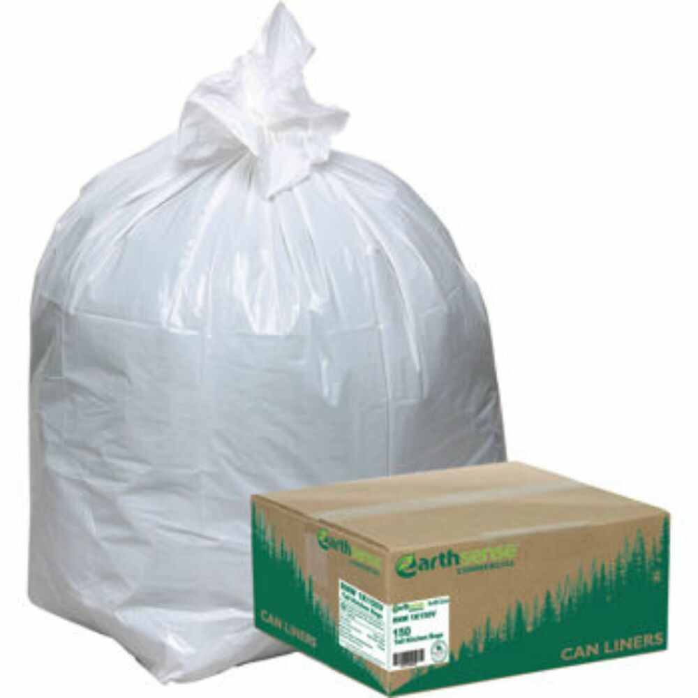 Kitchen Garbage Bags: Earthsense Recycled 150ct Tall Kitchen 13 Gallon Garbage