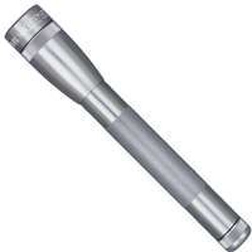 New Maglite Sp2209h Gray Led Mini Mag 2aa Cell Flashlight