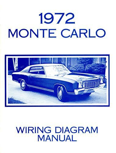 1972 Chevrolet Monte Carlo Wiring Diagram Manual