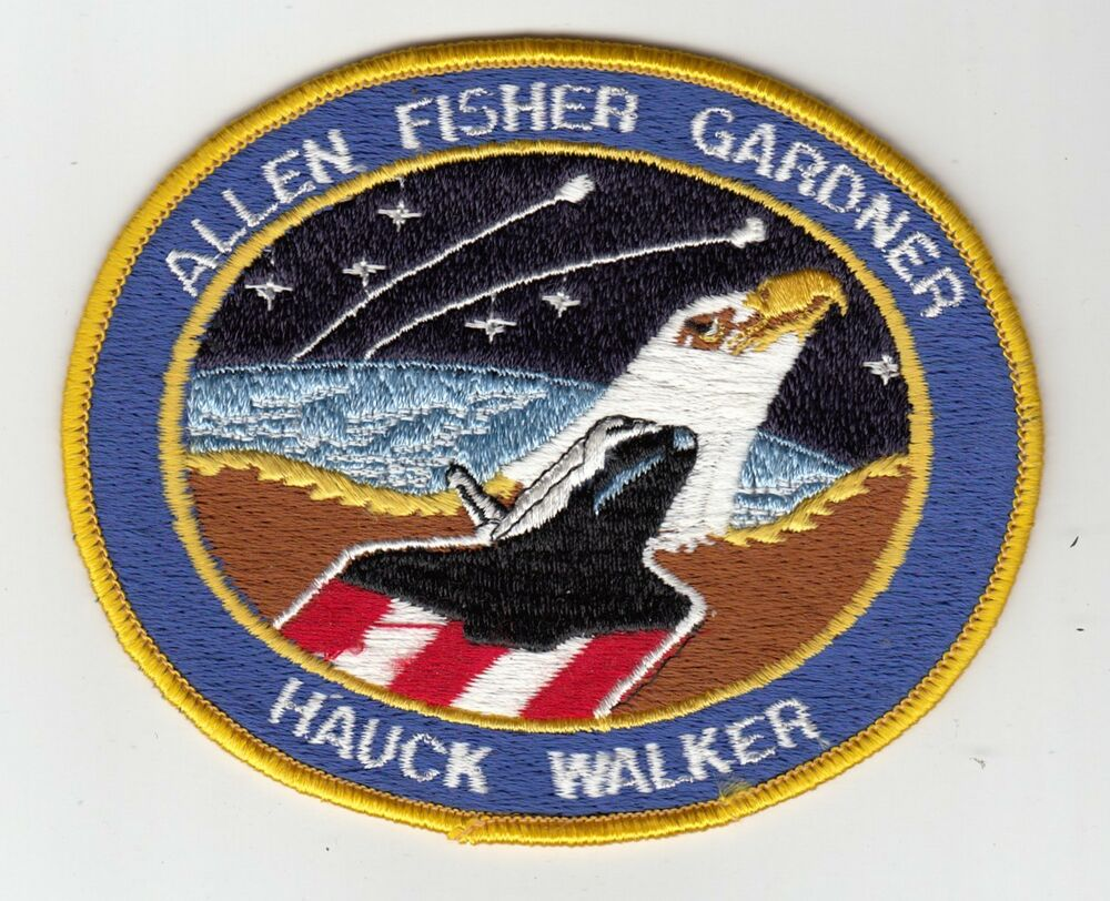 mission space patch 1984 - photo #3