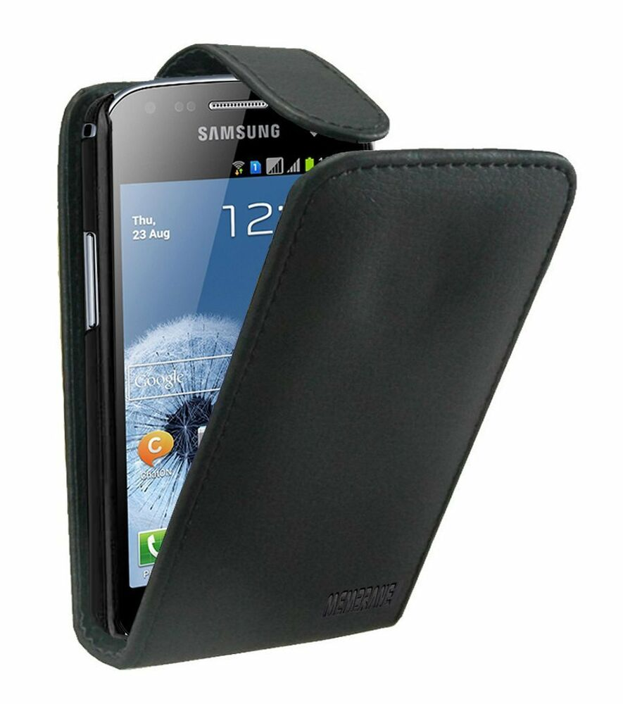 leather flip case mobile phone cover pouch for samsung. Black Bedroom Furniture Sets. Home Design Ideas