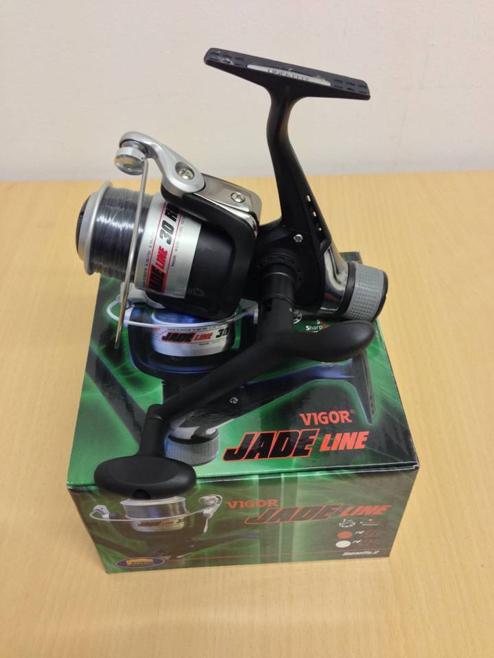 Lineaeffe vigor jade 30 coarse spinning fishing reel with for Best fishing line for spinning reels