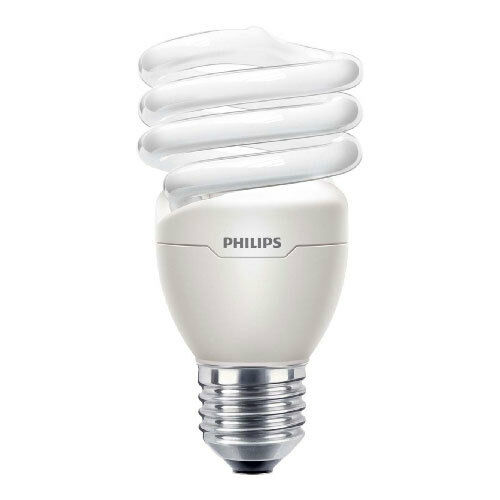 Dimmable Philips Tornado Energy Saver Light Bulb 20w E27