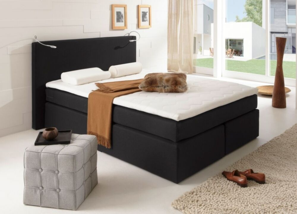 Savanna boxspringbett doppelbett boxspring bett hotelbett for Betthusse boxspring bett