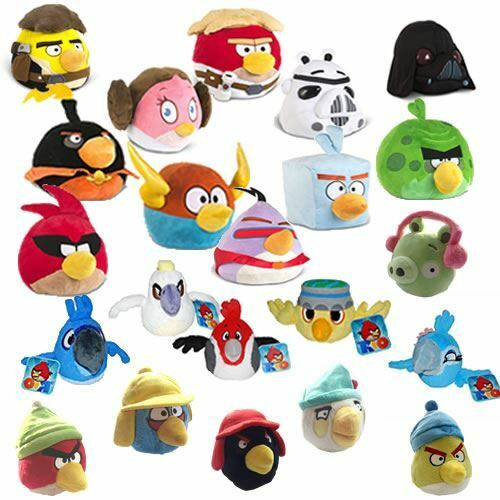 Angry Birds Toys : Official angry birds soft toys space star wars rio winter