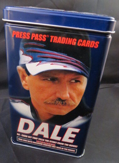 lot of 4 dale earnhardt sr press pass trading 50 card. Black Bedroom Furniture Sets. Home Design Ideas