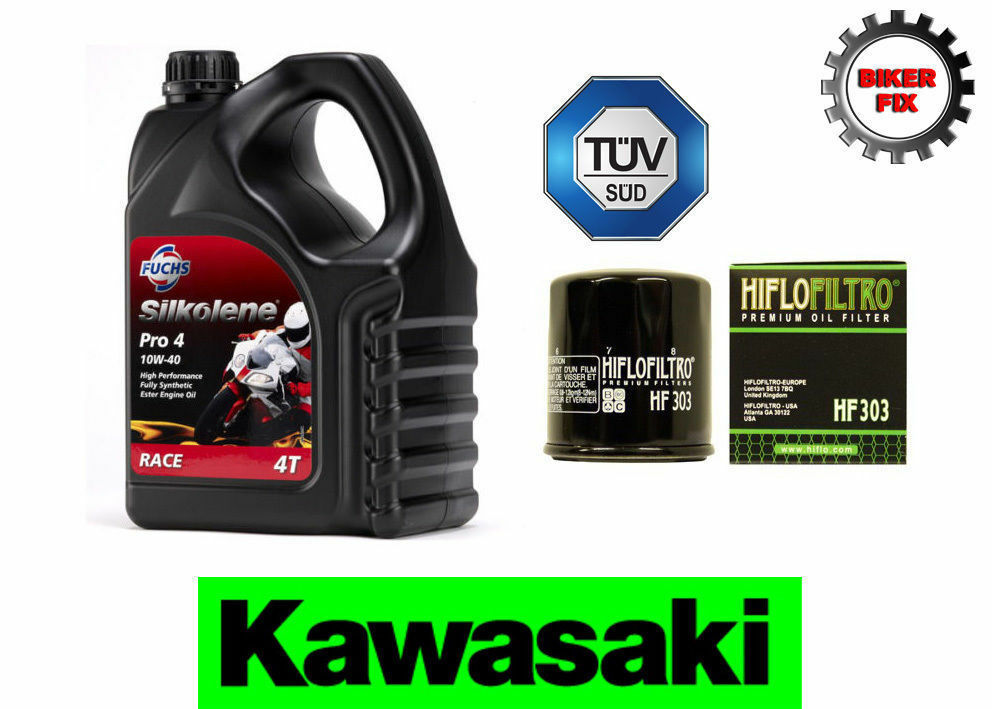 kawasaki z1000 12 silkolene pro 4 fully synthetic 10w40 oil