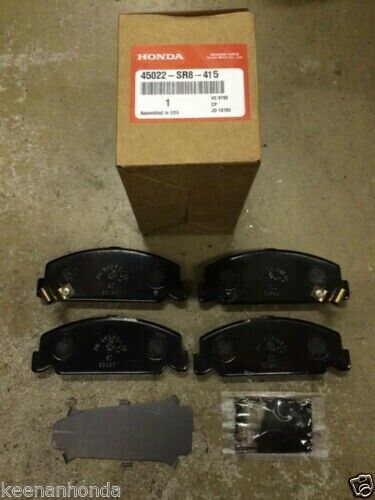 Genuine Oem Honda Civic 4 Dr Front Brake Pad Set 1994 2000 Brakes Pads Ebay