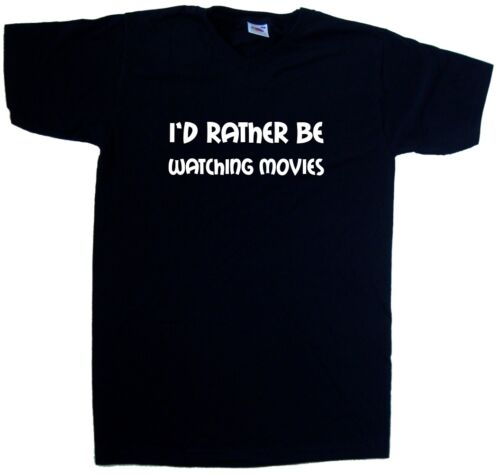 I'd Rather Be Watching Movies V-Neck T-Shirt