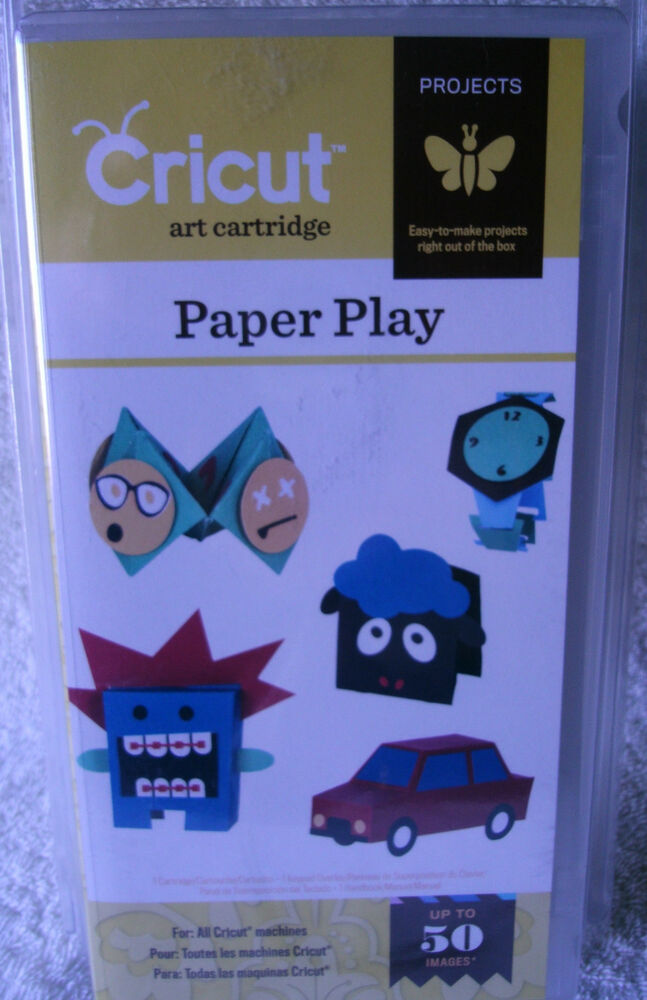 Provo craft cricut cartridge paper play 2001413 for Cricut crafts to sell