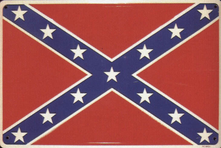 new metal sign rebel flag confederate dixie heritage color moods for rooms cheap bedside tables modern living