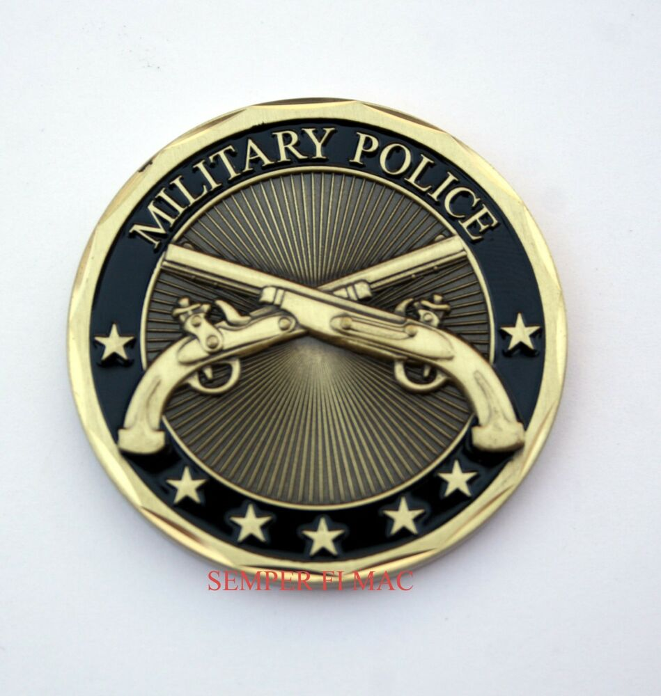 Us Army Military Police Challenge Coin Law Enforcement