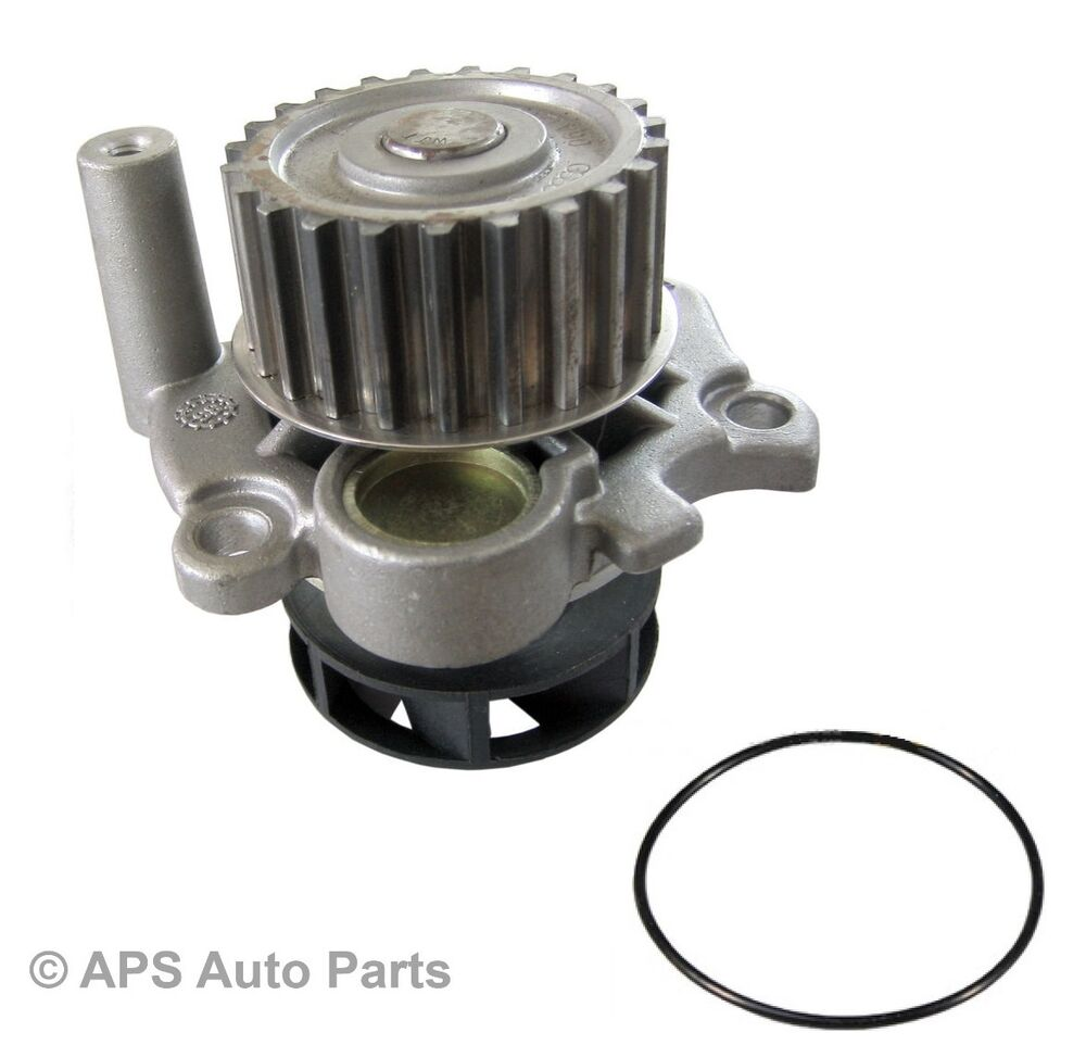 audi a3 96 03 a4 95 09 a6 97 05 tt 98 06 1 8 t engine coolant water pump new ebay. Black Bedroom Furniture Sets. Home Design Ideas