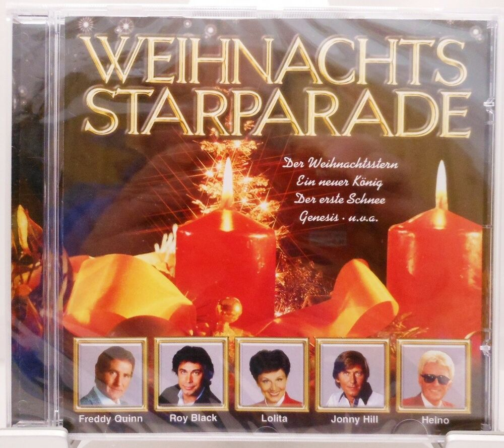 weihnachts starparade cd weihnachten schlager stars. Black Bedroom Furniture Sets. Home Design Ideas